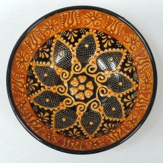 キュタフヤ陶器ボウル (M オレンジ01)