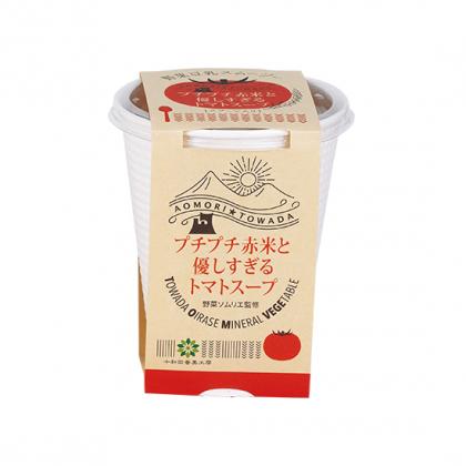 赤米トマトスープ