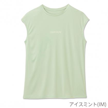 【DANSKIN】 ロゴ フレンチ ティー