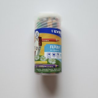 FARBY 軸白木18色PPボックス