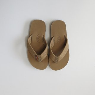 kid's premier leather sandal - Sierra brown