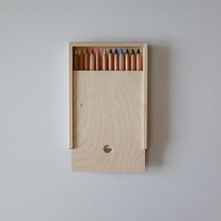色鉛筆用木箱(12本用)