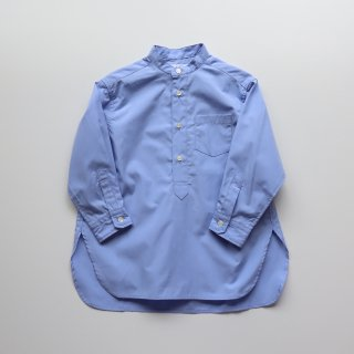 <img class='new_mark_img1' src='https://img.shop-pro.jp/img/new/icons14.gif' style='border:none;display:inline;margin:0px;padding:0px;width:auto;' />band collar long shirts - blue