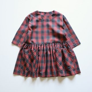 <img class='new_mark_img1' src='https://img.shop-pro.jp/img/new/icons14.gif' style='border:none;display:inline;margin:0px;padding:0px;width:auto;' />pocket dress - red tartan