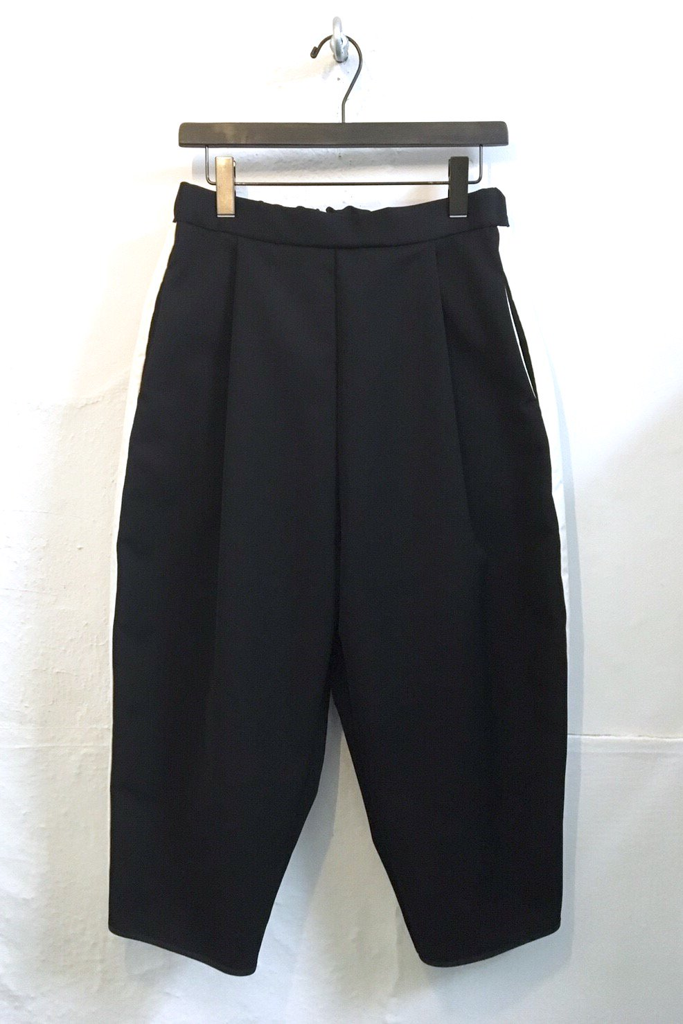 LONG PANTS  -BLACK-