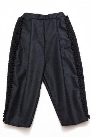 BOA PANTS  -BLACK-