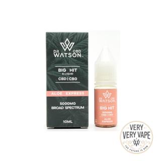 【DR WATSON CBD】<br>5000mg<br>Aloe Express<br>BIGHIT E-liquid