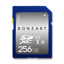 BONZART SDXCカード<br>256GB CLASS10 UHS-I