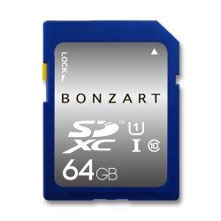 BONZART SDXCカード<br>64GB CLASS10 UHS-I