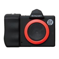 トイカメラ<br>BONZART Lit+ ブラック<br>30万画素