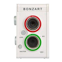 トイカメラ<br>BONZART AMPEL<br>Premiume White Edition<br>500万画素