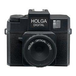 トイカメラ<br>HOLGA DIGITAL ブラック<br>800万画素