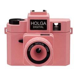 トイカメラ<br>HOLGA DIGITAL ピンク<br>800万画素