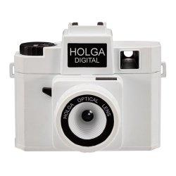トイカメラ<br>HOLGA DIGITAL ホワイト<br>800万画素