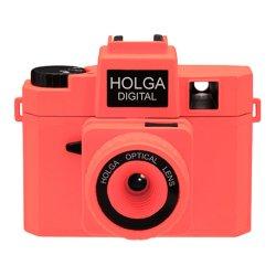 トイカメラ<br>HOLGA DIGITAL ネオンオレンジ<br>800万画素