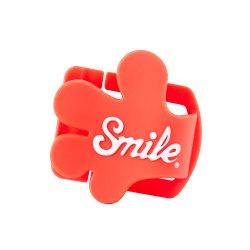 レンズキャップホルダー<br>Lens Cap Clip Giveme5 レッド<br>Smile