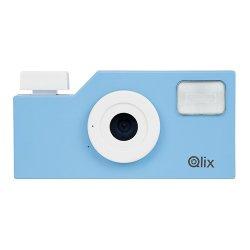 トイカメラ<br>Qlix CAMERA スカイブルー<br>630万画素