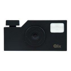 トイカメラ<br>Qlix CAMERA ピュアブラック<br>630万画素