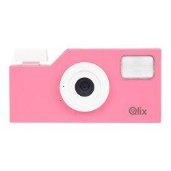トイカメラ<br>Qlix CAMERA ホットピンク<br>630万画素