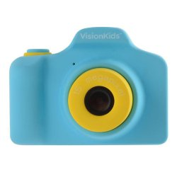 トイカメラ<br>VisionKids HappiCAMU ブルー<br>1500万画素