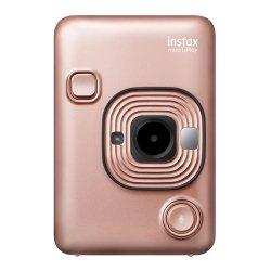インスタントカメラ<br>チェキ instax mini LiPlay<br>ブラッシュゴールド