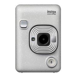 インスタントカメラ<br>チェキ instax mini LiPlay<br>ストーンホワイト