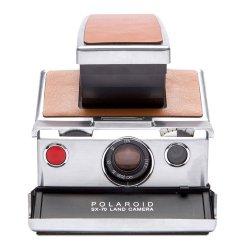 インスタントカメラ<br>Polaroid SX-70<br>Original シルバー×ブラウン