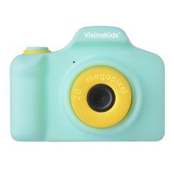 トイカメラ<br>VisionKids HappiCAMU PLUS<br>グリーン 2000万画素