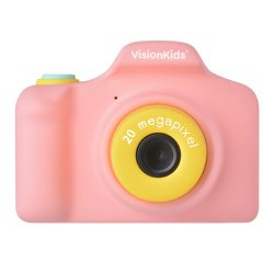 トイカメラ<br>VisionKids HappiCAMU PLUS<br>ピンク 2000万画素