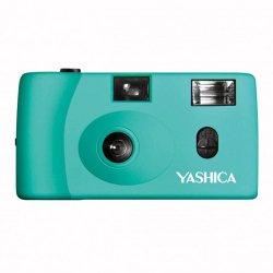 フィルムカメラ<br>YASHICA MF-1<br>ターコイズ