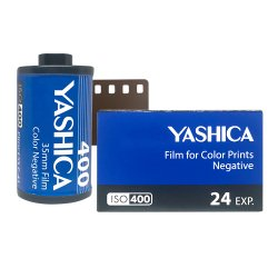 35mmフィルム<br>YASHICA 400<br>カラー 400 24枚撮り
