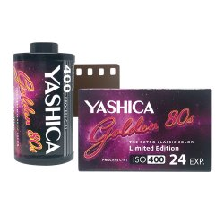 35mmフィルム<br>YASHICA Golden 80s<br>カラー 400 24枚撮り