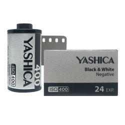 35mmフィルム<br>YASHICA Black & White<br>モノクロ 400 24枚撮り
