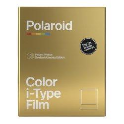 ポラロイドフィルム<br>Polaroid Color i-Type Film 2PACK<br>Golden Moments Edition