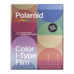 ポラロイドフィルム<br>Polaroid Color i-Type Film 2PACK<br>Metallic Nights Edition