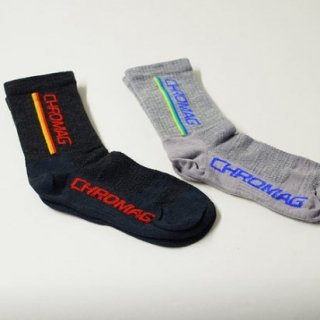 CHROMAG [クロマグ] / STRIPED WOOL SOCKS
