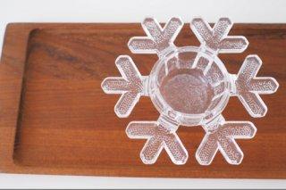 雪結晶 キャンドルホルダー