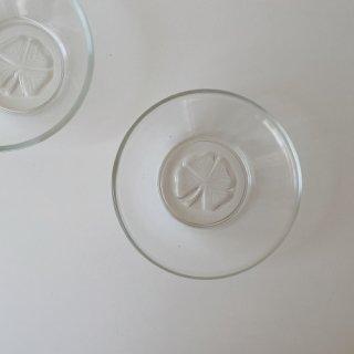 四つ葉のガラスボウル