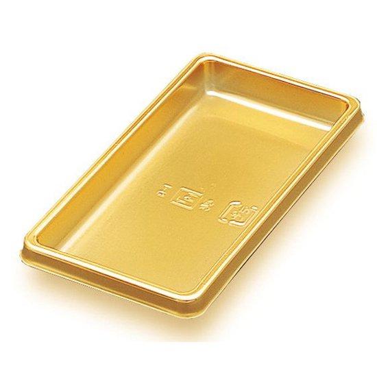 ケーキトレー ゴールドトレー B-1 長角 100枚入