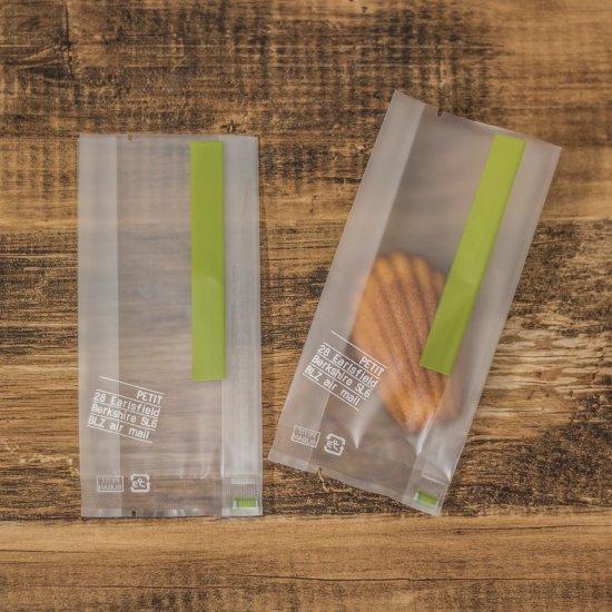 スイーツカラーパック 70+30×150 グリーン(マチあり) 100枚入