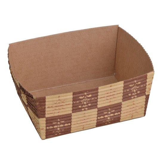 ベーキングトレー 小 茶ブロック 50個入