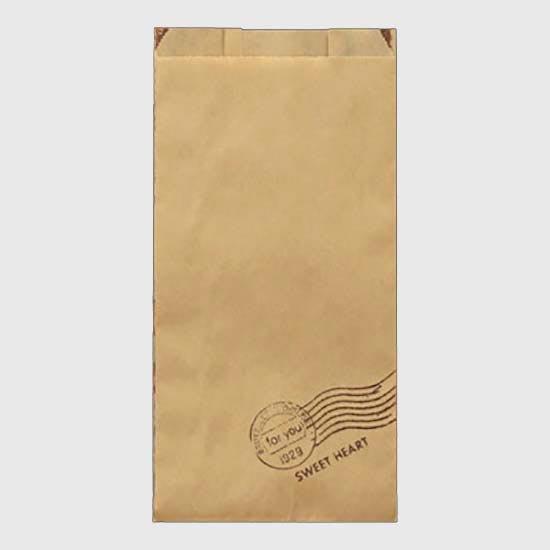 耐油紙GZ袋(スイートハート) #188 大 100枚入