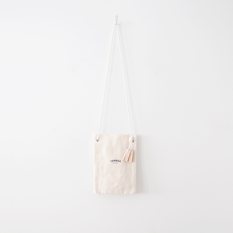 TEMBEA Game Pouch Logo Natural