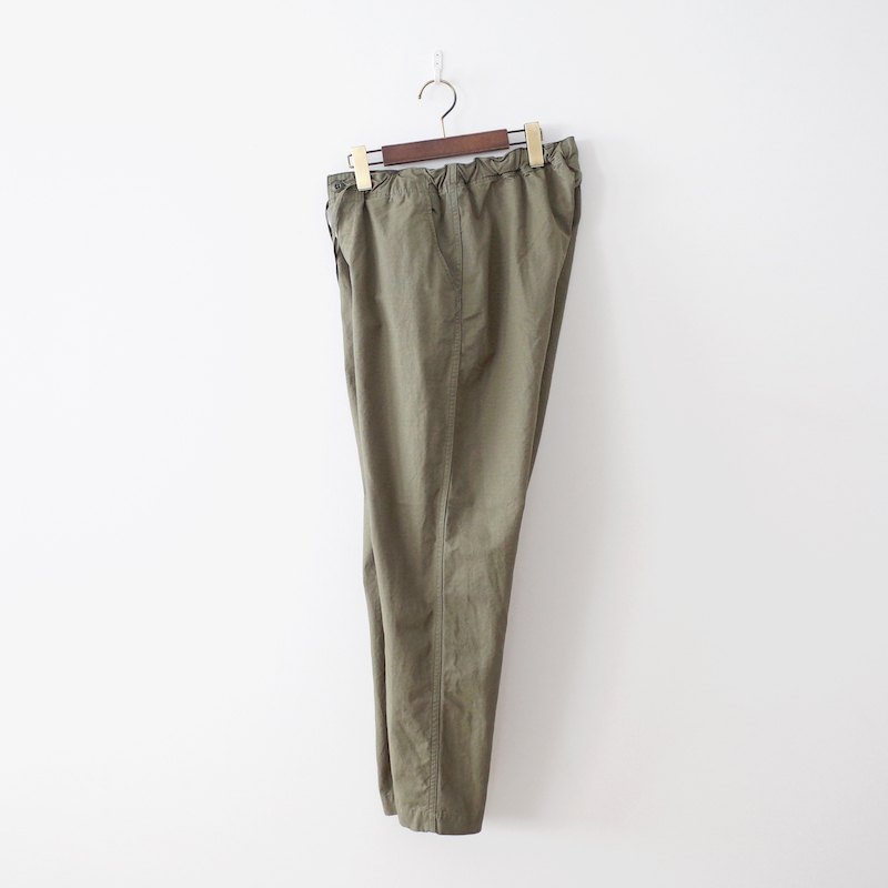 orSlow オアスロウ New Yorker ニューヨーカー Cotton Rip Stop Army Green