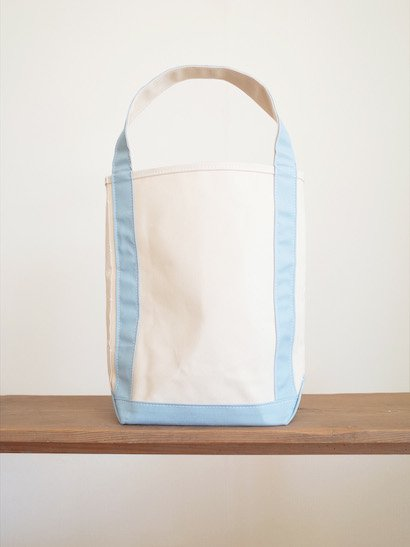 TEMBEA  Baguette Tote - Natural / French Blue