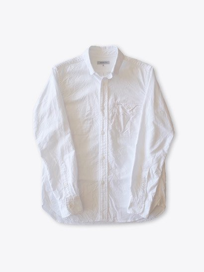 Ordinary fits Invisible B.D Shirt - White