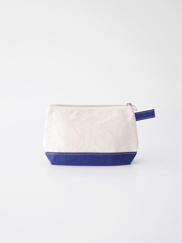 TEMBEA Toiletry Bag - Natural / Navy