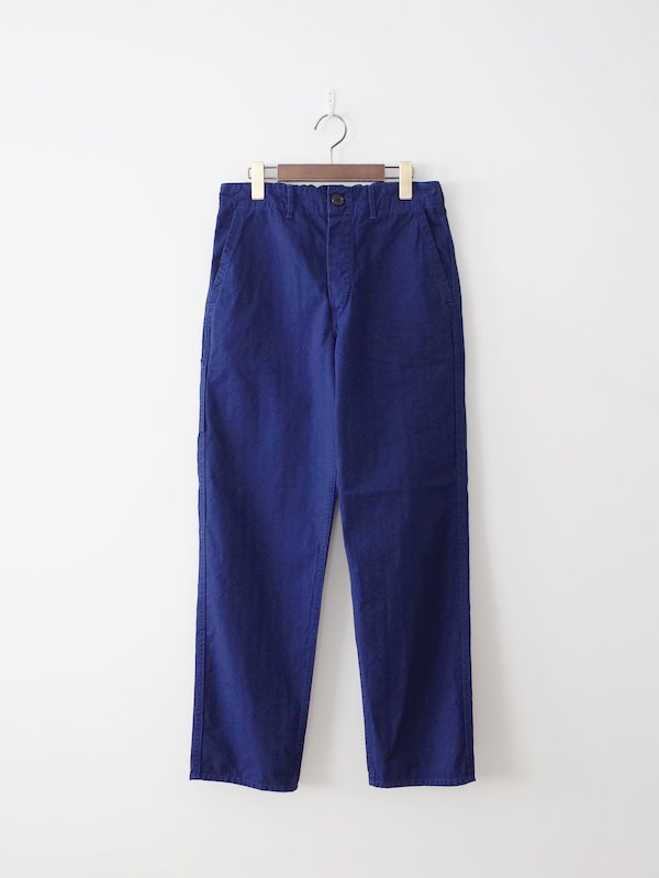 orSlow French Work Pants - Blue