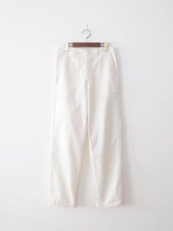 orSlow French Work Pants - Ecru