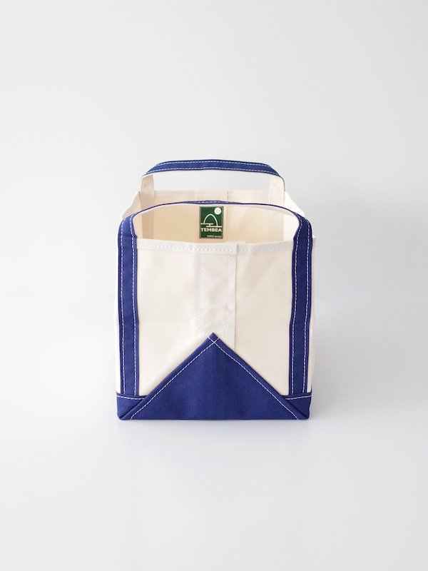 TEMBEA Book Tote - Natural / Navy